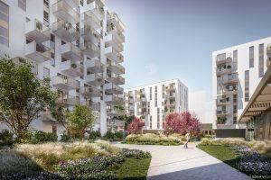 Neubau im Sonnwendviertel: Residenz Adele mit 284 Mietwohnungen